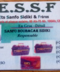 E.S.S.F ETS SANFO SIDIKI & FRERES