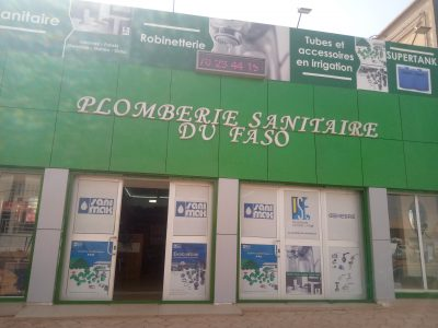 PLOMBERIE SANITAIRE DU FASO