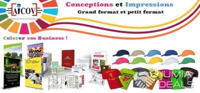 Impression numérique & support communication
