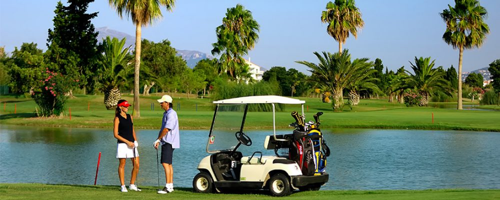 Séjour dans un golf à l'étranger