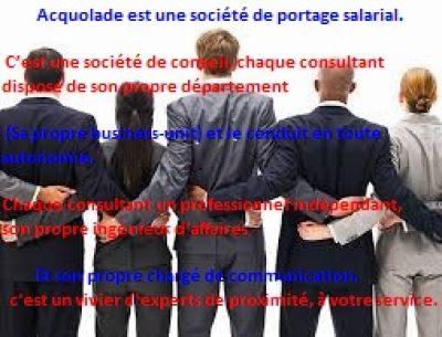 acquolade société de portage salarial